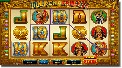 Play Golden Princess online pokies