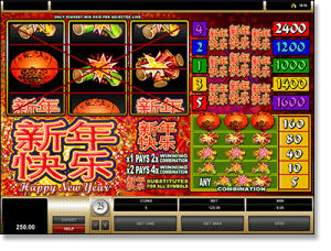 Happy New Year Internet pokies