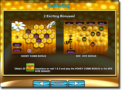 Honey Buziness bonus features