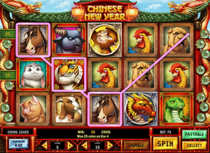 Chinese New Year slot game