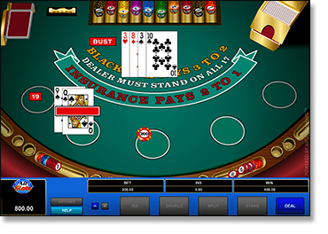 Play Microgaming blackjack at the best AUD casinos