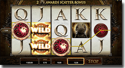 Game of Thrones online video pokies at Slots Million