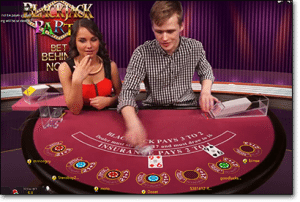 Blackjack Party live