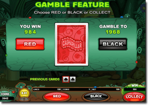 Gamble feature in real money online pokies