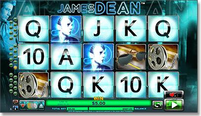 James Dean pokie game
