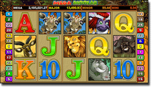Mega Moolah progressive jackpot pokies