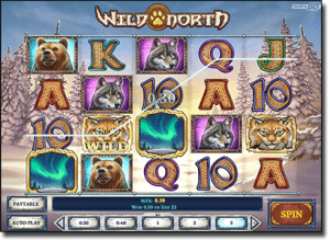 Wild North - pokies based on animal themes