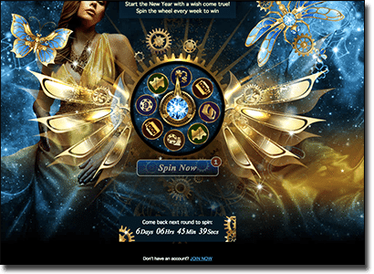 All Slots Casino Wheel of Riches promotion 2016
