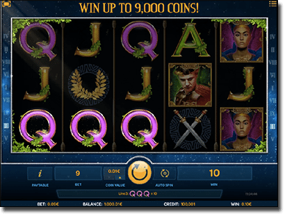 Luxury Rome HD pokies by iSoftbet