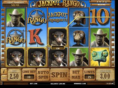 Rango online pokies game