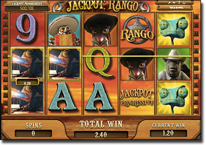 Rango pokies free spins feature