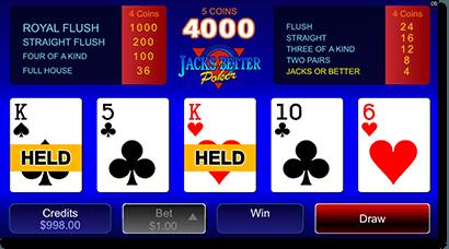Mobile video poker for real money
