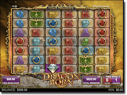 Dragon Born pokies free spins feature
