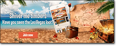 Leo Vegas Treasure Hunt April 2016