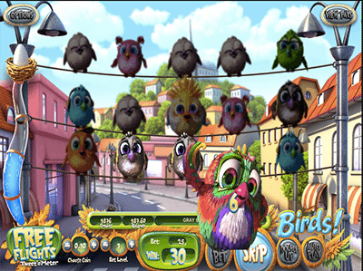 Birds! 3D pokies by BetSoft inspired by Angry Birds