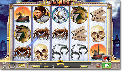 King Kong online pokies game in AUD