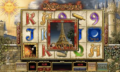 Nostradamus Prophecy online pokies game