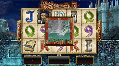 Nostradamus Prophecy free spins feature