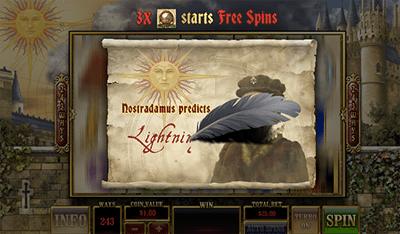 Nostradamus predicts online pokies special feature