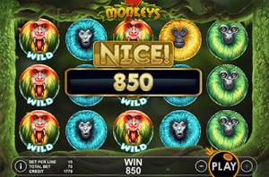 7 Monkeys pokies