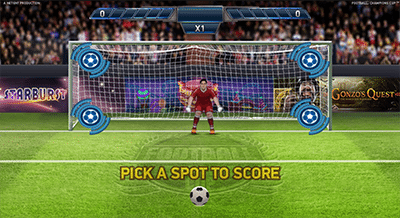 Football Champions Cup bonus game