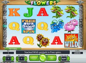 Flowers pokies