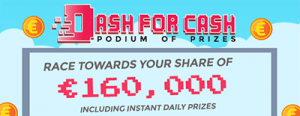 Dash for Cash promo