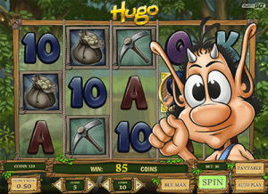 Hugo pokies game