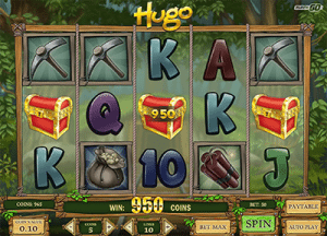 Hugo slot game