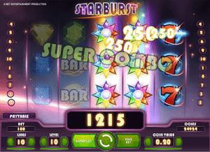 Starburst Wilds bonus