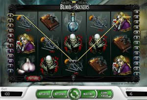 Blood Suckers vampire game