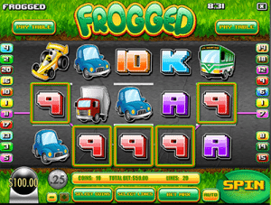 Frogged Rival slot