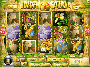 Golden Gorilla Rival slot