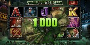 Lost Vegas Zombie Fist bonus