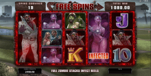Zombie free spins