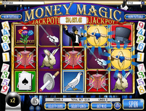 Money Magic slot by Rival