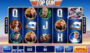 Top Gun Playtech slot