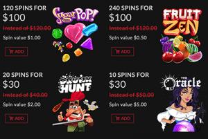 Boombet Casino discount store
