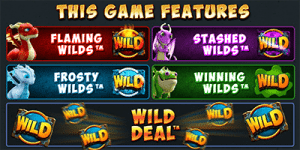 Dragonz pokies features