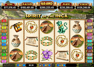 Spirit of the Incas slot