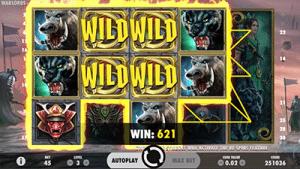 Warlords pokies wild