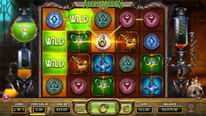 Alchymedes slot game