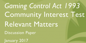 Gaming Control Act