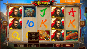 Huangdi The Yellow Emperor pokies by Microgaming