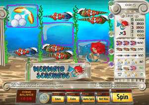 Mermaid Serene slot game