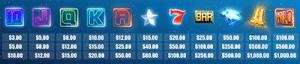 Symbols in Classic 243 slot