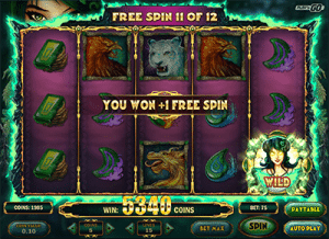 Free spins in Jade Magician