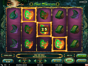 Jade Magician slot game