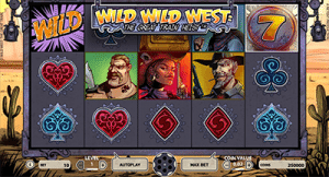Wild Wild West slot game