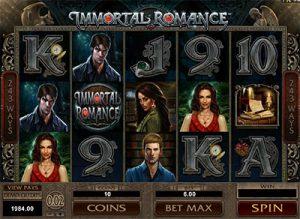 Immortal Romance pokies